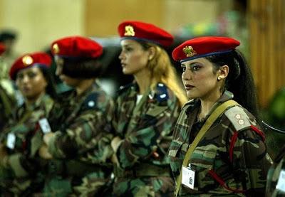 Corps militaire feminin Libye