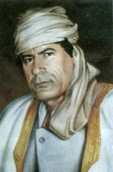 libyagaddafiportrait